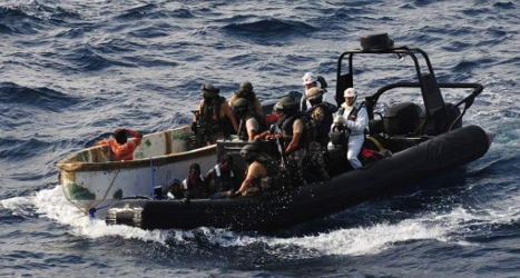 Somali pirate suspects stand trial in Madrid