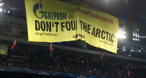 FC Basel fined over Greenpeace protest