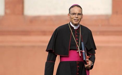 Vatican suspends 'bling bishop' after Pope meet