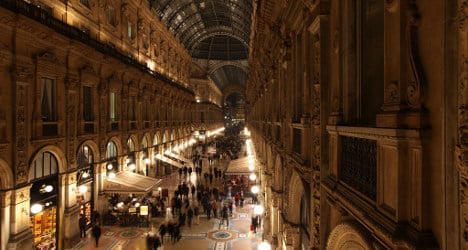 Boost for economy as Italians hit the shops