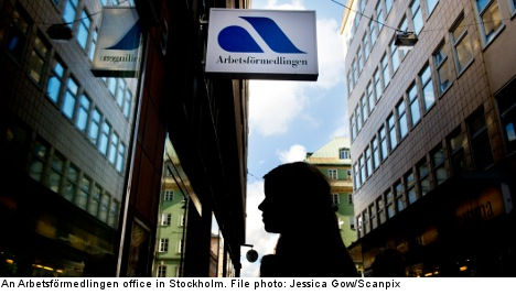 Unemployment rises again in Sweden