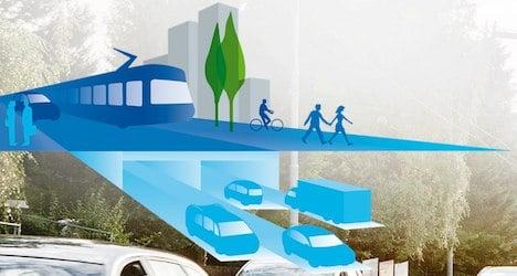 Zurich plans billion-franc road tunnel and tram line