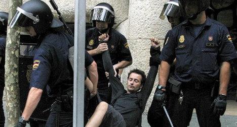 Spain backtracks on €600,000 protest fines