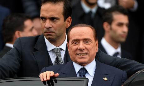 Berlusconi accuses left of 'coup d'etat'