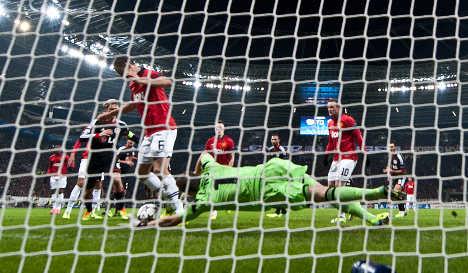 United walk all over Bayer Leverkusen 5-0