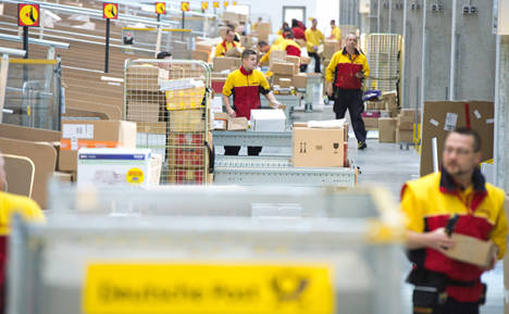 Deutsche Post pushes up international mail prices