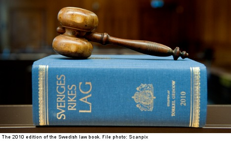Swedish law to include crimes against humanity