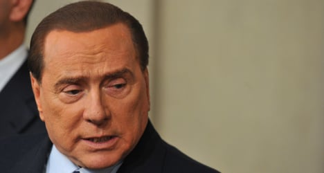 'Berlusconi has a personality disorder'