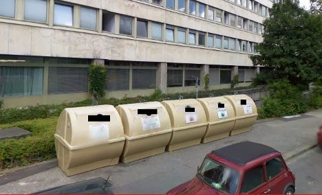 Glass recycling bins – Munich's top attraction