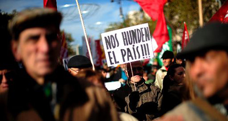 Austerity strikes cause Spain air travel chaos