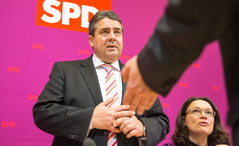 SPD's Gabriel turns defeat into victory