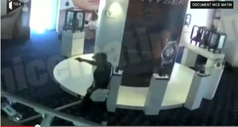 VIDEO: See lone robber pull off biggest ever heist