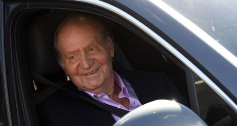 Spanish King's hip surgery 'a success'