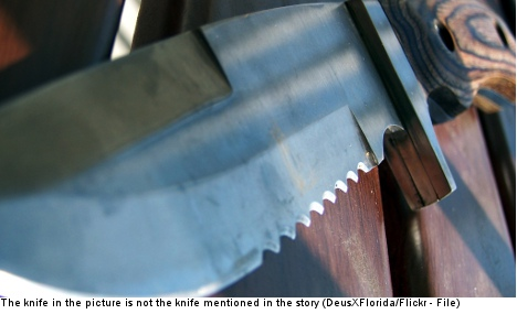 Man with knife boards plane undetected – twice