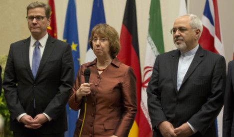Westerwelle says Iran deal 'turning point'
