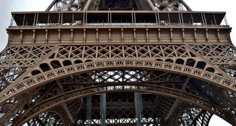 Old Eiffel Tower steps sold off at Paris auction