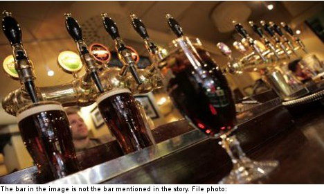 Pub guests denied drinks for being 'too nice'