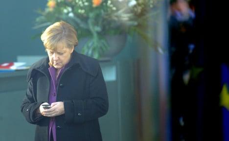 UK, China and Russia 'tapped Merkel's phone'