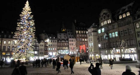 Christmas markets set to resist crisis in France