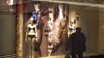 Semi-naked models spark concern in Ferrara