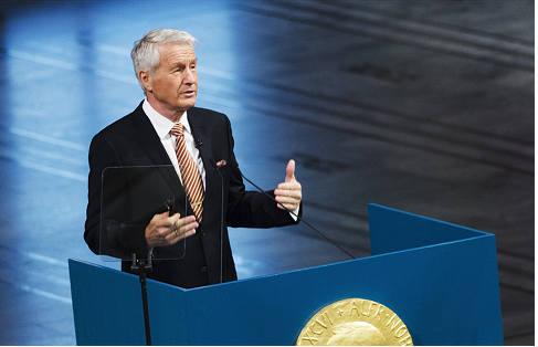 Nobel head calls for international spy law