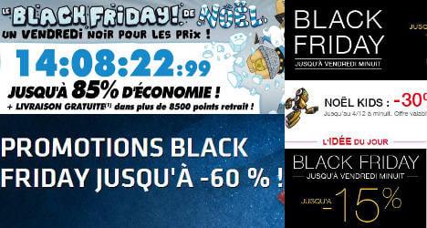 Black Friday seduces France amid US backlash