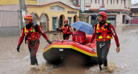 Sardinia mourns flood dead as storms hit Italy