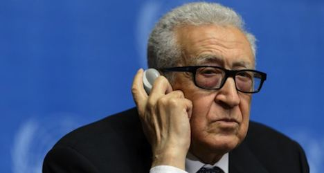 Second round of Syria talks set for Geneva