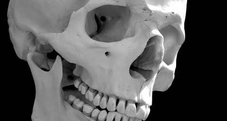 Human skull dumped in Rome church