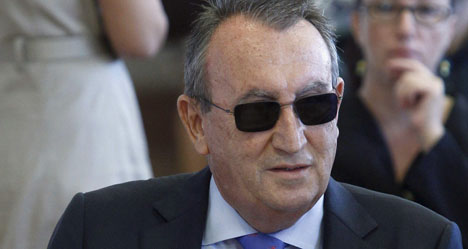 Top ally of Spain's PM convicted of tax evasion