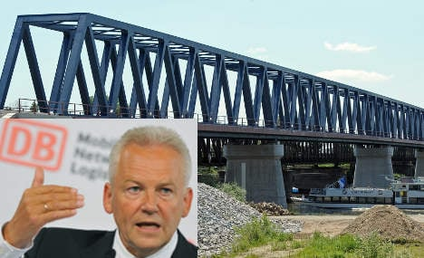 Crumbling rail bridges threaten train network