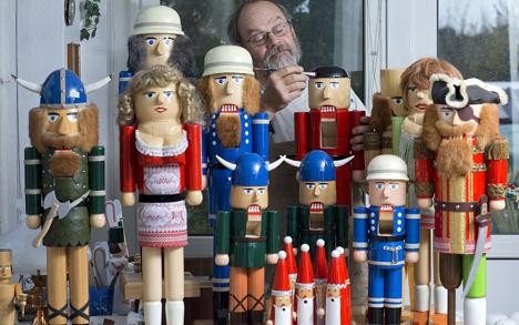 Nutcracker makers get ready for Christmas rush