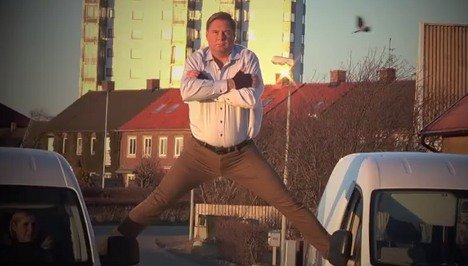 Swedish mayor in 'epic' Van Damme tribute