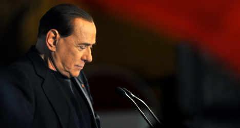 Berlusconi breaks social media record