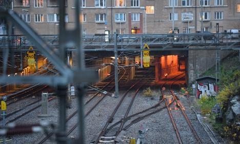 Stockholm trains back on track after derailment