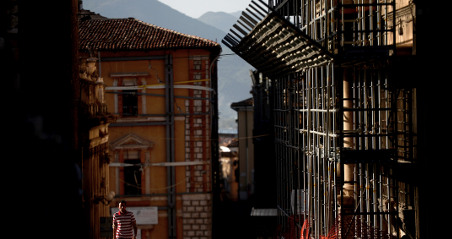 Italy 'loses' €2 billion Aquila rebuild fund
