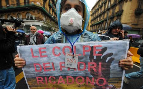 Toxic mafia dumps sow panic near Naples