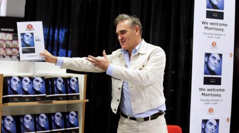 Morrissey to headline Nobel prize concert