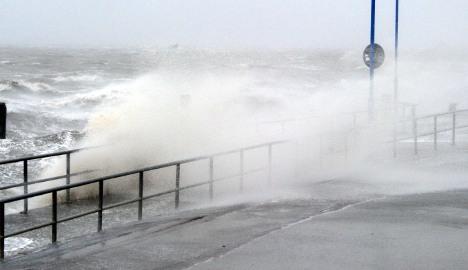 Hurricane Xaver hits northern Germany
