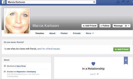 Swedish woman's 'murder' exposed as fake