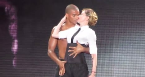 Madonna's ex toy boy has stage to himself