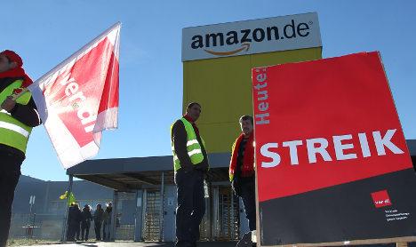 Amazon plays down 'record' German strikes