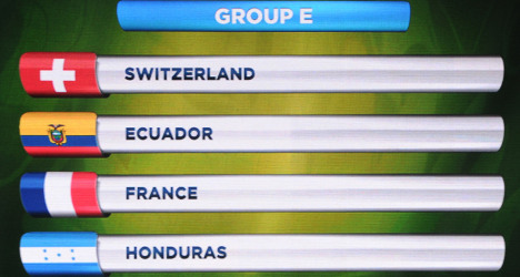France avoid World Cup 'Group of Death'