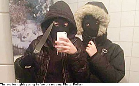 Teen locked up after pre-robbery selfie
