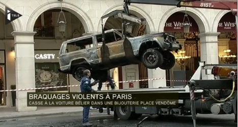 Robbers hit chic Paris jewellers for $1 million