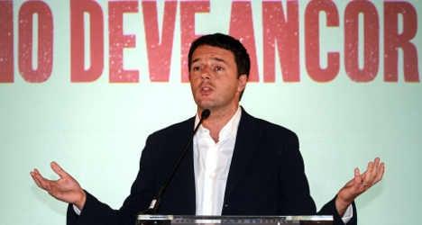 Italian left's new leader 'inspired by Tony Blair'