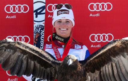 Swiss skier Gut wins World Cup super-G