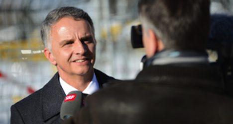 Burkhalter gains solid backing as Swiss prez