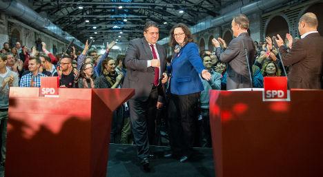 SPD members approve Merkel coalition deal