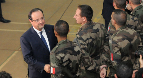 African intervention gives Hollande needed boost